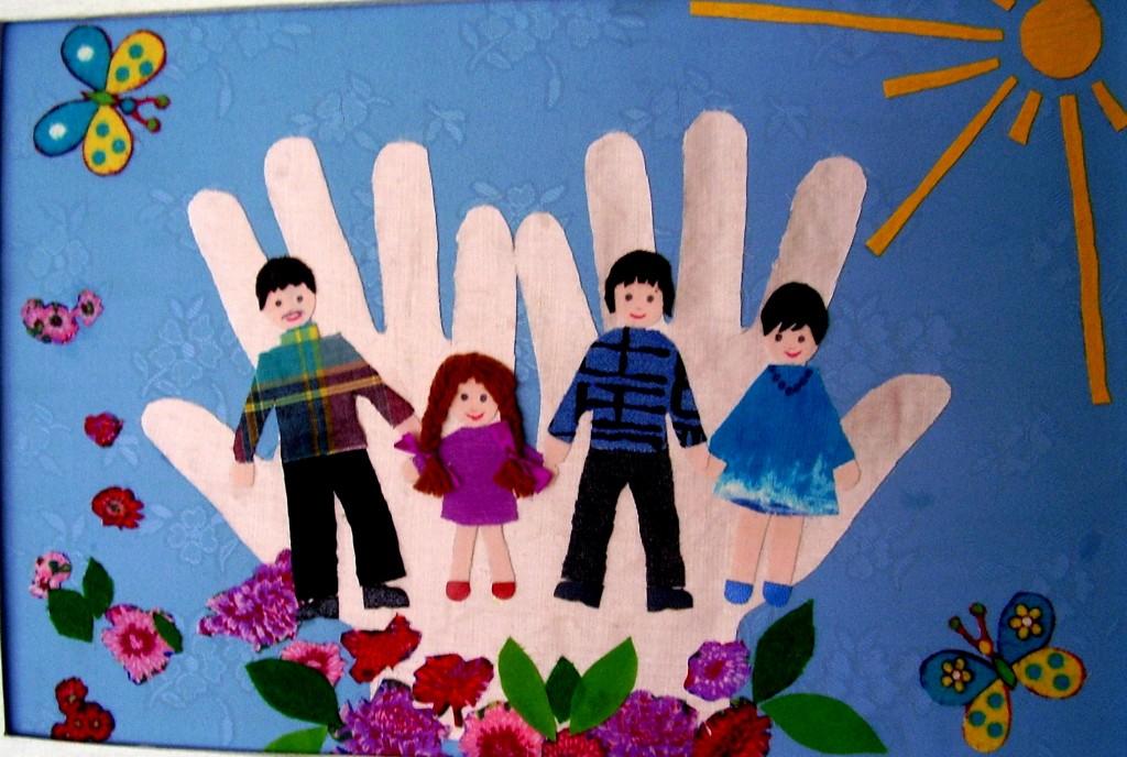 Какую Поделку Можно Сделать В Детский Сад На Тему Моя Семья?